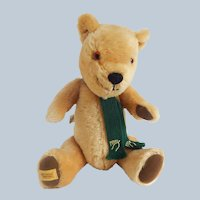 Merrythought Golden Mohair Teddy Bear