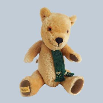 Merrythought Golden Mohair Teddy Bear