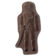 Hartstone Pottery Nutcracker Cookie Mold