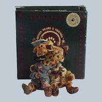 Boyds Bears Stretch and Skye Longnecker Figurine