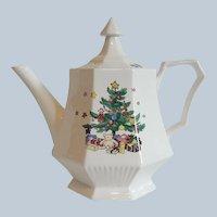 Nikko Christmastime Tea Pot
