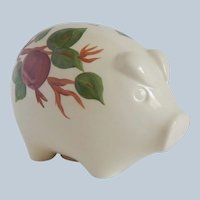 Franciscan Apple Piggy Bank Made In England