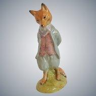 Royal Albert Beatrix Potter Foxy Whiskered Gentleman Figurine