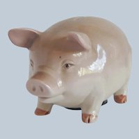 Otagiri Pig Piggy Bank Figurine Japan