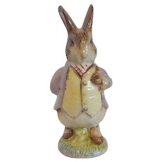Royal Albert Beatrix Potter Benjamin  Bunny Figurine