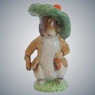 Royal Albert Beatrix Potter Benjamin Bunny Figurine