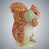 Royal Albert Beatrix Potter Squirrel Nutkin Figurine
