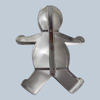 Cooky Cutter 2 in 1 Snow Man OR Gingerbread Boy