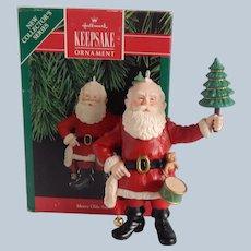 Hallmark Keepsake Merry Olde Santa Ornament 1990