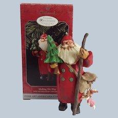 Hallmark Keepsake Making His Way Christmas Ornament 1998