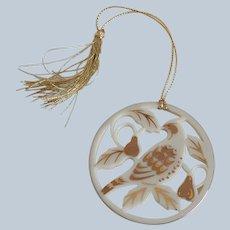 Lenox Days Of Christmas Partridge Ornaments