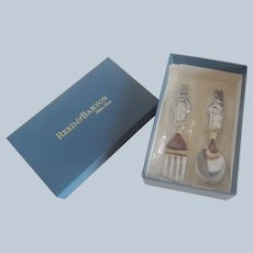 Reed & Barton Bunnkins  Baby Fork and Spoon