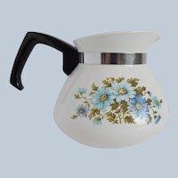 Corning Ware Chelsea Blue Teapot