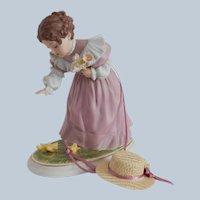 Little Chickadee Figurine by Maud Humphrey Bogart