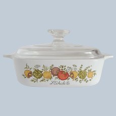 Corning Ware Spice Of Life Bakeware with Lid