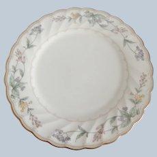 Six Noritake Brookhollow Salad Plates