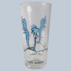 Warner Bros. Pepsi Road Runner Character Glass