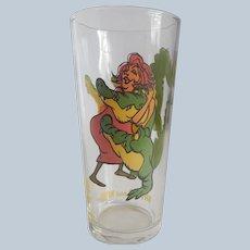The Rescuers Brutus & Nero Collectors Pepsi Glass