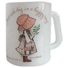 Federal Glass Holly Hobbie Mug