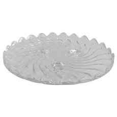 Fostoria Glass Colony Footed Plate
