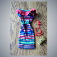 Barbie Knit Dress With  Belt And Purse
