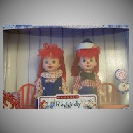 Barbie Classic Kelly & Tommy As Raggedy Ann & Andy Dolls