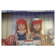 Barbie Classic Kelly & Tommy As Raggedy Ann & Andy Dolls