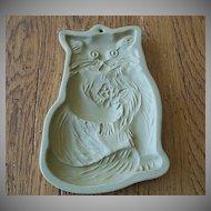 Brown Bag Cookie Art Cat