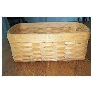Hand Crafted Longaberger Basket 2000