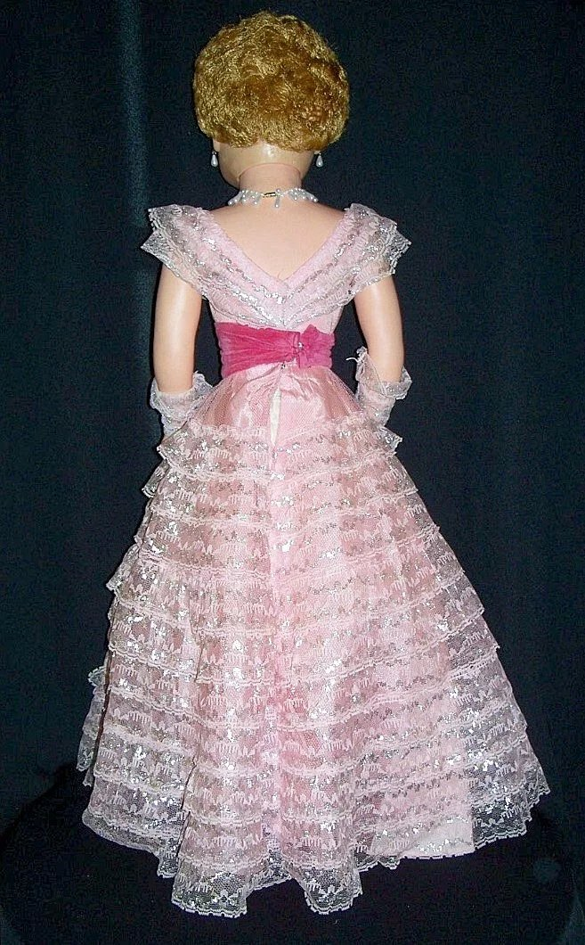 1957 Fashion Doll Sweet Rosemary By Deluxe Doll Co