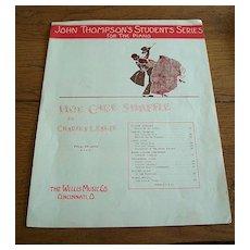 Hoe Cake Shuffle Sheet Music