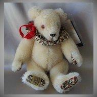 Merrythought Renaissance White  Mohair Bear