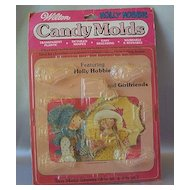 Holly Hobbie Candy Molds Wilton
