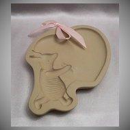 Brown Bag Cookie Art  Piglet