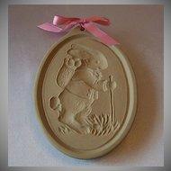 Brown Bag Cookie Art Easter Bunny
