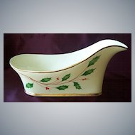 Porcelain Holiday Wine Caddy by Lenox