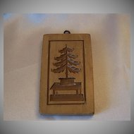 Made Of Switzerland Christmas Tree Springerle Cookie Mold