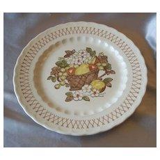 Vernon Ware Metlox Fruit Basket Dinner Plate
