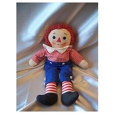 Knickerbocker Raggedy Andy Vintage  Musical Doll