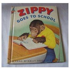 Zippy Goes To School Elf  Book