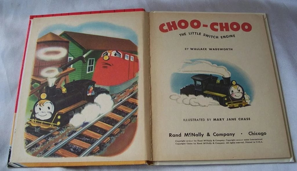 Tip Top Elf Book Choo-Choo The Little Switch Engine : Colemans Collectibles | Ruby Lane