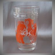 Swanky Swigs Dog and Rooster Glass