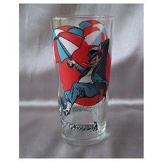Pepsi Penguin Super Series Promotional Glass