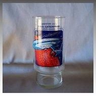 Dr Pepper Star Trek  U.S.S. Enterprise Collectors Glass