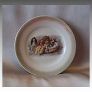 Germany Children's Tea Set Plate with Cocker Spaniel