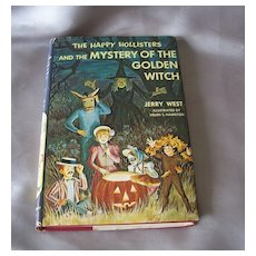 The Happy Hollisters and the Mystery Of The Golden Witch
