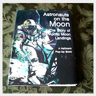 Hallmark Astronauts on the Moon Pop Up Book