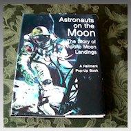 Hallmark Astronauts on the Moon Pop Up Book
