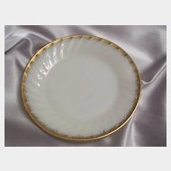 Fire King Golden Anniversary Salad Plate