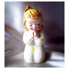 Ceramic Praying Little Girl  Bank